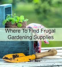 Garden Supplies Where To Find Frugal Gardening Supplies Jpg