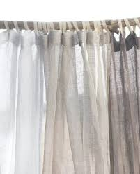 Sheer Shower Curtains Of The Day Eileen Fisher Sheer Linen Shower Curtain