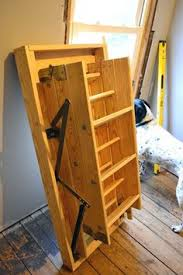 attic pull down stairs google search garage pinterest