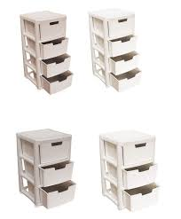 Plastic Bathroom Storage Furniture For Bathroom Design And Decoration With Narrow White