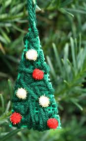 kid made tree ornament fantastic learning