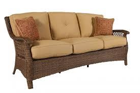 Agio Wicker Patio Furniture - agio veranda patio sofa mathis brothers furniture