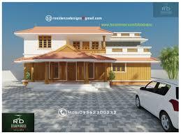 Home Exterior Design Kerala Traditional 2900 Sq Ft Kerala Home Exterior Design