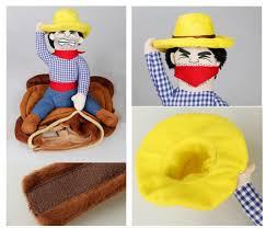amazon com nacoco cowboy rider dog costume for dogs clothes