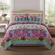 Queen Girls Bedding by Boho Chic Girls Full Queen Comforter Set Modern Pink Teal Teen