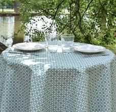 nappe ronde tissu enduit nappes de table anti tache imperméable à partir de 28 u20ac nappe