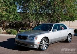 2000 lexus ls 2000 lexus ls with 20 gianelle santo 2ss in machined silver