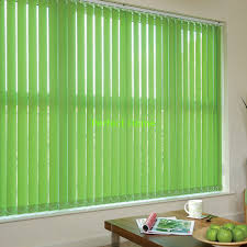 Vertical Blind Head Rail 100 Polyester Fabric Vertical Blinds For Windows With Low