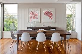 Table In Wall Dining Room Contemporary With Framed Art Modern - Dining room framed art