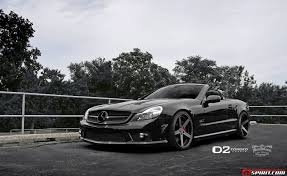 mercedes jeep 6 wheels black mercedes benz sl 63 amg with deep concave d2forged wheels