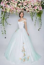 rent a wedding gown coloured but subtle wedding dresses you will fall in with