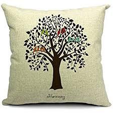 nykkola 18 x 18 decorative cotton linen throw pillow
