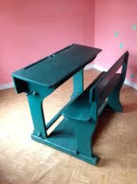bureau d 馗olier ancien en bois 1 place bureau ecolier ancien bureau decolier ancien en bois 1 place