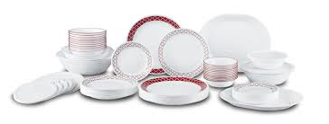 corelle crimson trellis living ware 74 piece dinnerware set