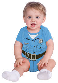 boys police officer halloween costume law officer infant onesie police costumes for babies