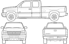 Old Ford Truck Vector - unique s10 truck sketch vector photos free vector art images