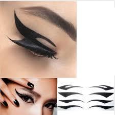 trendy cat style temporary eyeshadow eyelid eye
