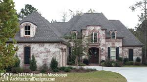 architectural designs inc house plan 14127kb client built in mississippi