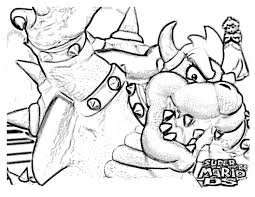 bowser coloring pages mario and luigi bowser coloring pages u2013 kids