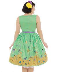 audrey u0027 green baby dragon print swing dress