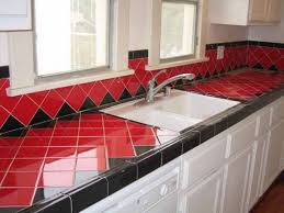 kitchen countertop tile design ideas best kitchen designs