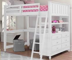 Plans For Full Size Loft Bed With Desk by Bedroom Full Size Loft Bed With Desk For Sale White Colors Ideas