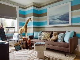living room decor brown and blue interior design