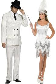 Flapper Gangster Couple Halloween Costumes Couples 1920s Gangster U0026 Flapper Fancy Dress Costumes Fancy