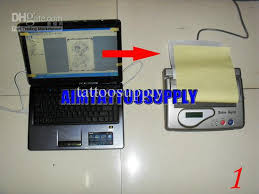 tattoo thermal printer reviews thermal copier machine usb 2012 new for tattoo laser paper laser
