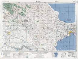 Ussr Map Eastern Europe Ams Topographic Maps Perry Castañeda Map