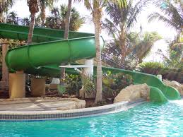 lagoon pool waterslide at the palm beach marriott singer island
