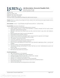 resume template for senior accountant duties ach drafts payment clerk resume sle accounts payable clerk resume accounting