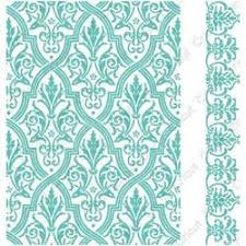 cuttlebug embossing folder border set by griffin pirouette