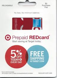 prepaid gift cards with no fees redbird the target prepaid redcard