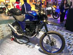 tvs motocross bikes mahindra mojo adventure concept may enter production soon