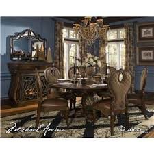 Michael Amini Dining Room Set Michael Amini The Sovereign Fireplace W Electric Insert