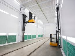 spray paint booth high tech paint booth for hitachi plant railway gazette