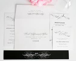 luxe flourish wedding invitations wedding invitations by shine