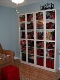 glass doors bookcase foter
