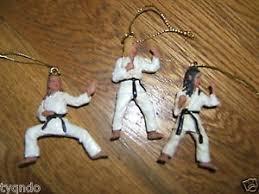 new martial arts christmas ornaments martial arts taekwondo