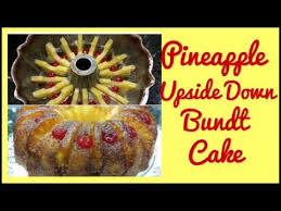 does this recipe work pineapple upside down bundt cake youtube