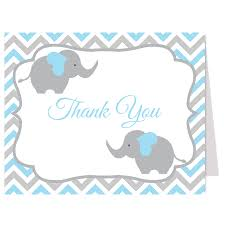 baby shower thank you cards with photo image collections baby