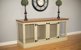 pet room dividers eagle furniture manufacturing cozy k 9 double wide medium credenza