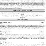 Paralegal Resume Examples by Civic Leader U2013 Political Resume Example Within Attorney Resume