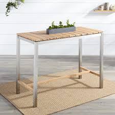White Wash Coffee Table - coffee table macon rectangular teak bar table whitewash outdoor