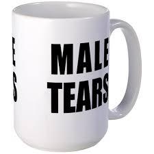 amazon com cafepress male tears large mug mugs coffee mug