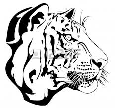 vector and tiger black clipart 1029 favorite clipartfan com