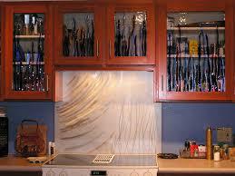 kitchen design sensational glass kitchen cabinets metal kitchen