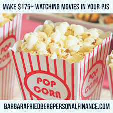 make money watching videos and movies up to 175 per month