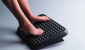 foot elevation under desk ergonomics guru guide to comfort efficiency comfy footrests